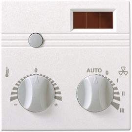 SR04 PST Wireless Room Temperature, set point adjuster, fan stage adjuster, presence button