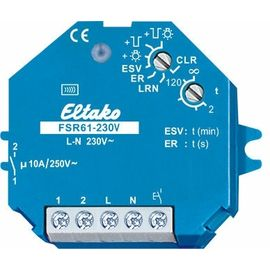 Wireless Actuator - Impulse Switch with integrated relay function FSR61LN-230V for bipolar switching of L and N